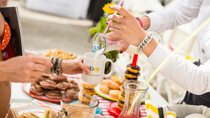 "Event photos for ""eBay on the beach"" brunch"