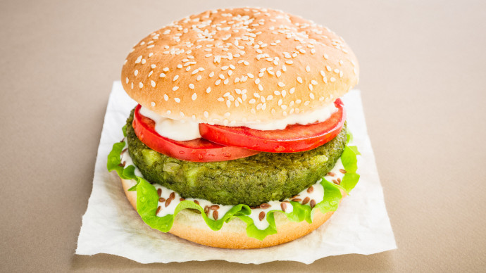 Food photos for Veggy Days vegan fastfood franchising