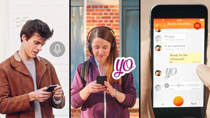 "Commercials for ""Blabel"" instant messaging app"
