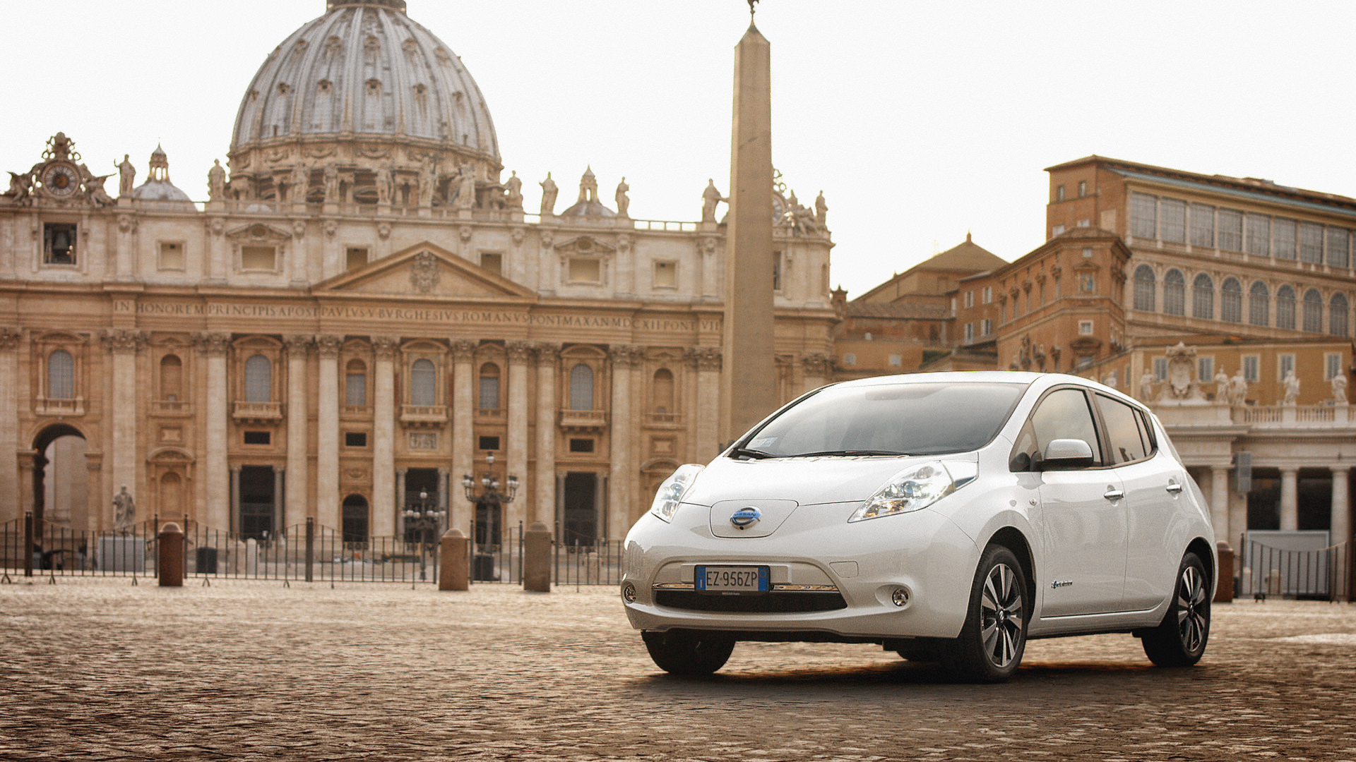 Rieti to Rome: Breathtaking European Electric Drives by Nissan