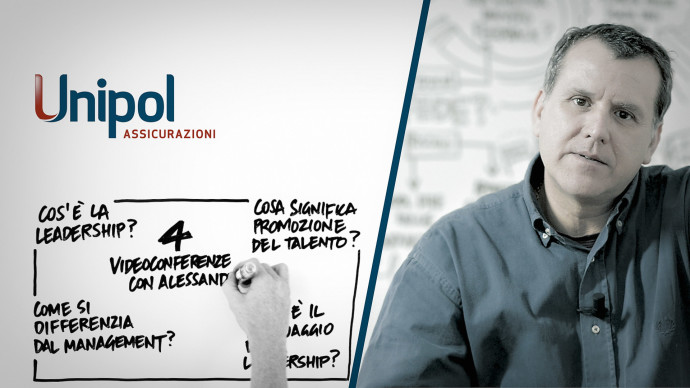 """Webconference"" corporate video for Unipol Assicurazioni"